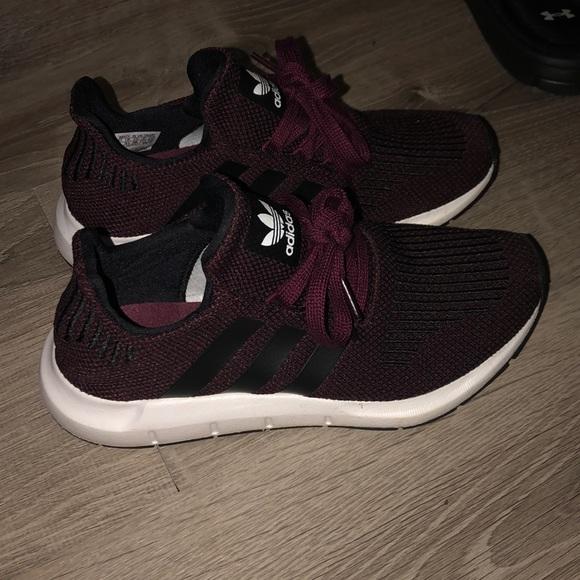 adidas Shoes | Adidas Burgundy Sneakers
